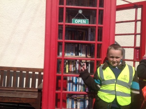 Cameron shows us the local library